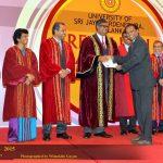 Annual research awards ceremony, University of Sri Jayewardenepura (2015)