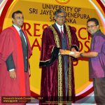 Annual research awards ceremony, University of Sri Jayewardenepura (2015)