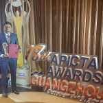Mr. Dulan Dias won the gold medal for for the Tertiary category at  APICTA (Asia Pacific ICT  Awards - 2018) event held in China