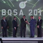 Mr. Dulan Dias won the silver award for for the Tertiary Student Projects (Technology) Category at NBQSA 2018