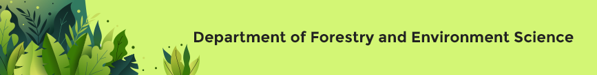 Department of Forestry and Environment Science